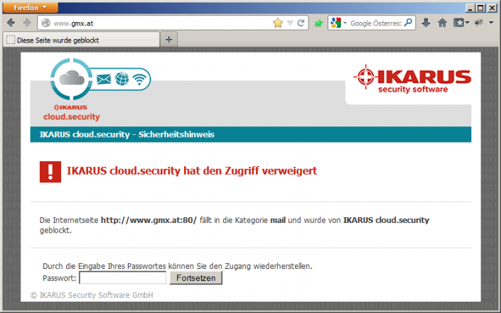 IKARUS web.security