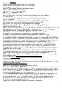 Vorschau der beschriebenen Erpresser-E-Mail