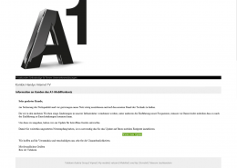 A1 E-Mail-screenshot