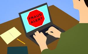 Symbolbild Cyber-Betrugsversuch