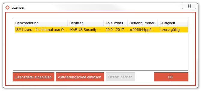 IKARUS anti.virus Lizenzen