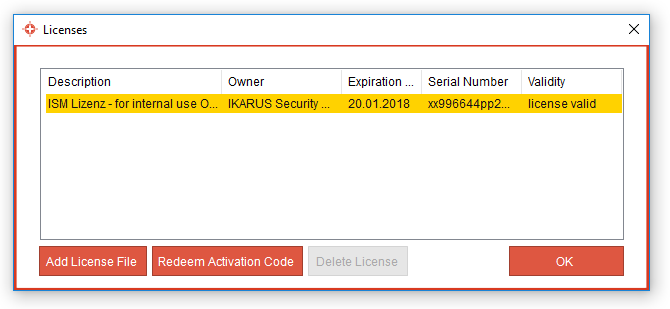 IKARUS anti.virus Licenses