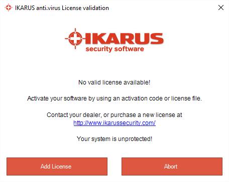 License validation