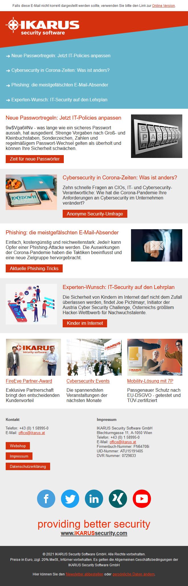 IKARUS Security News